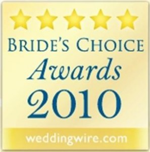 Forever in Love - Wedding Wire Bride's Choice Award
