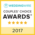 Forever in Love WeddingWire Couples Choice Award Winner 2017