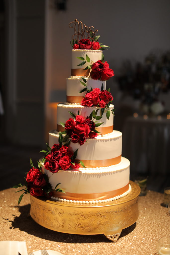 Wedding cake Ritz Carlton Naples